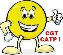 émoticone heureux CGT CATP