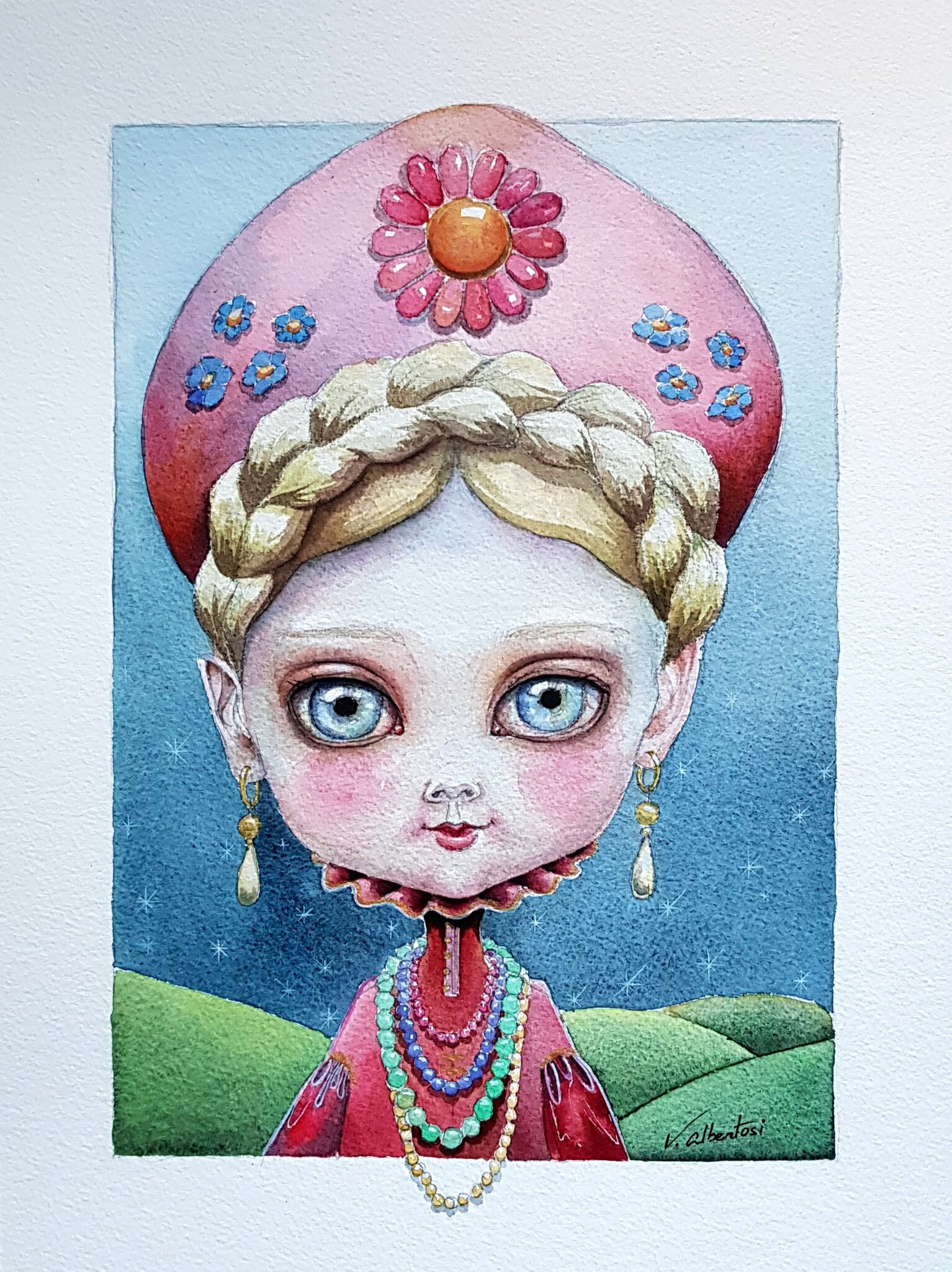 poupée Russe by valerie ALBERTOSI