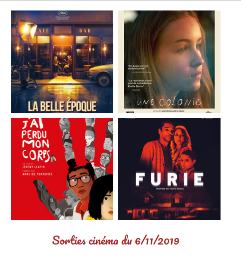 sorties cinema