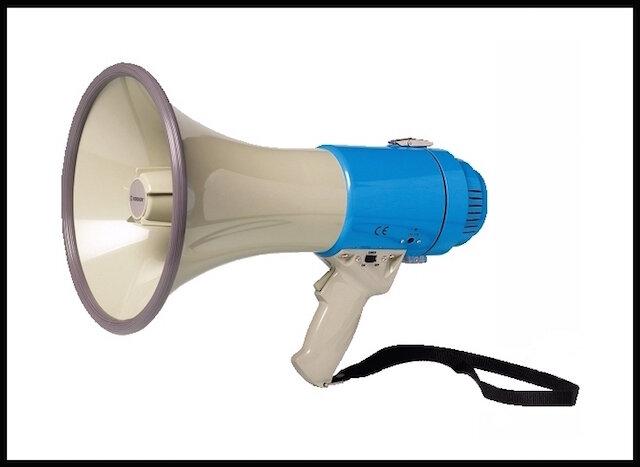 rondson porte voix avec sirene 1