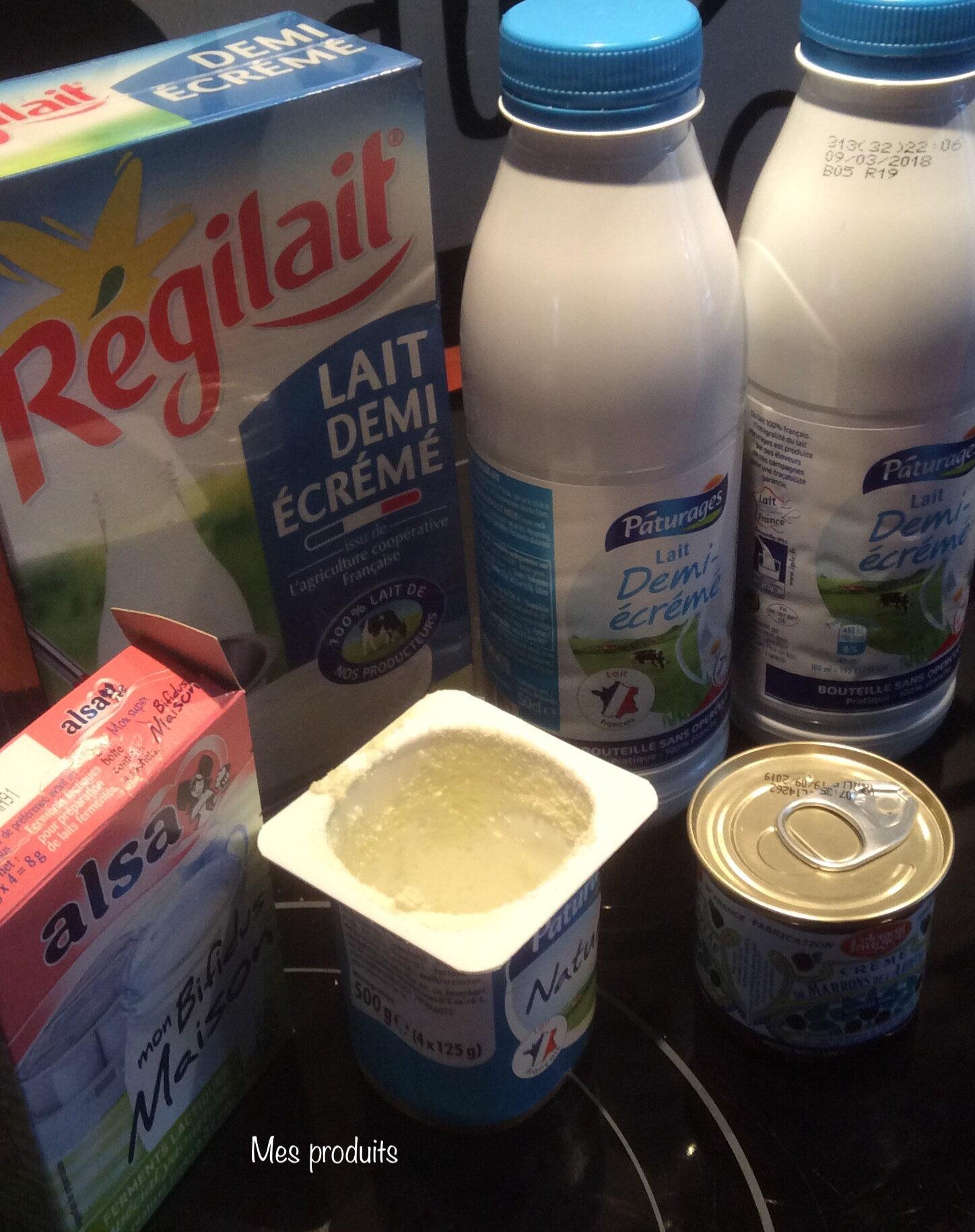 Les yaourts à ma façon à l'autocook