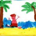 Petit enfant à la plage