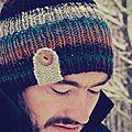 Le bonnet en kureyon de guigui