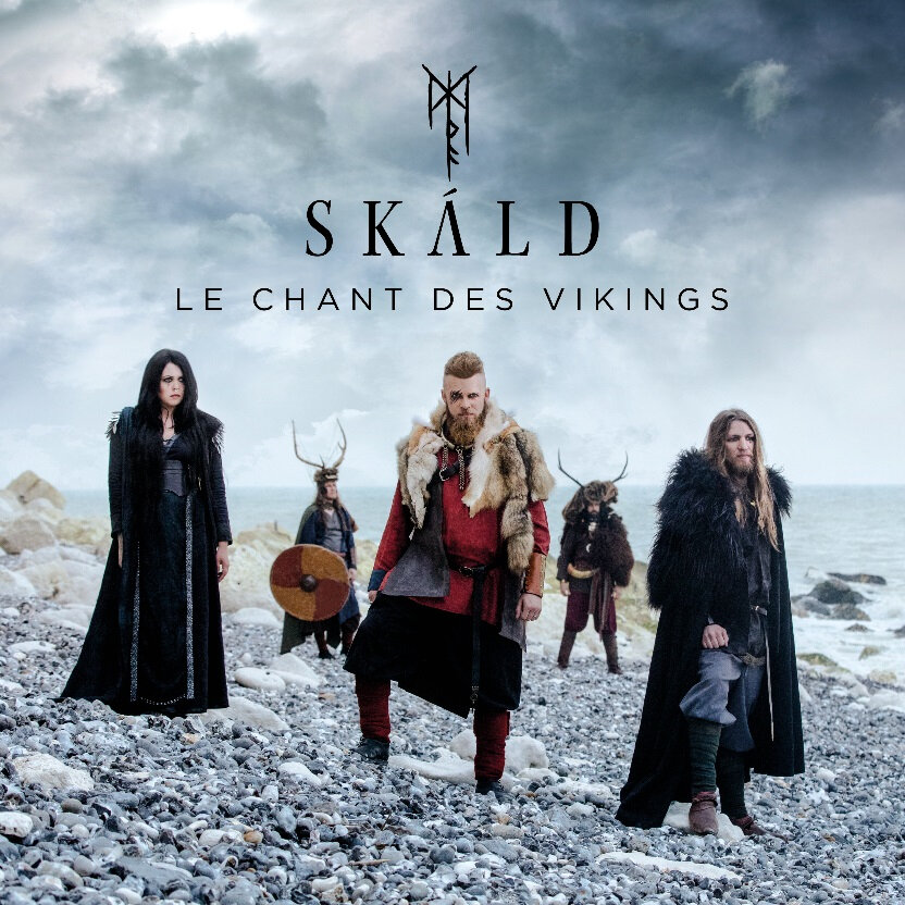 "SKÁLD: LEUR PREMIER ALBUM EN CD ""Le Chant des Vikings"""