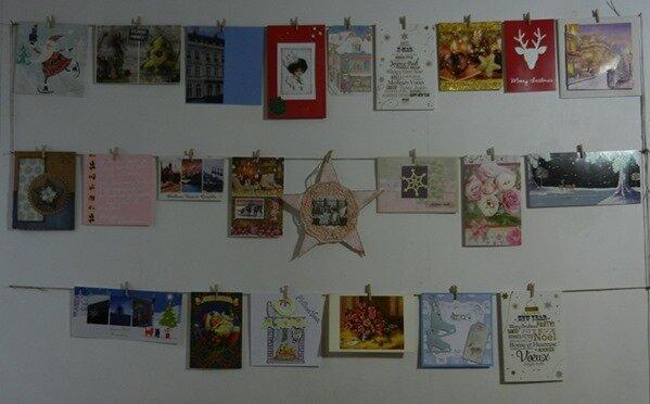 mur de cartes