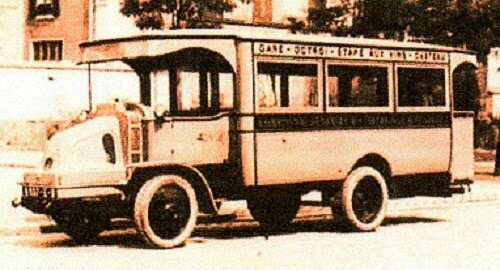 LATIL - AUTOCAR - 1920
