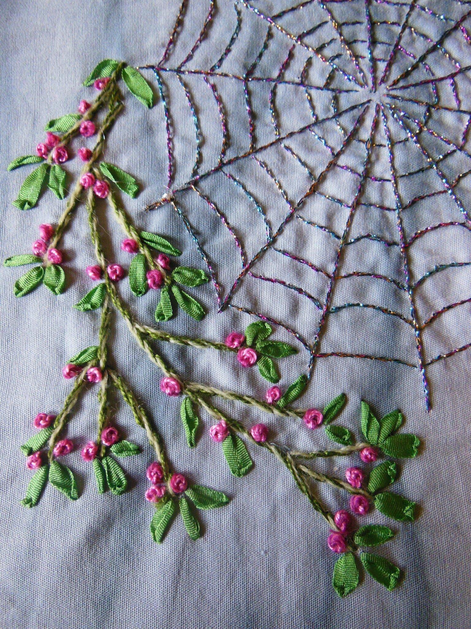Fragile, comme le fil éphémère de la toile d'araignée (2)