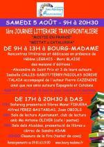 RENCONTRE LITTERAIRE Bourg-Madame