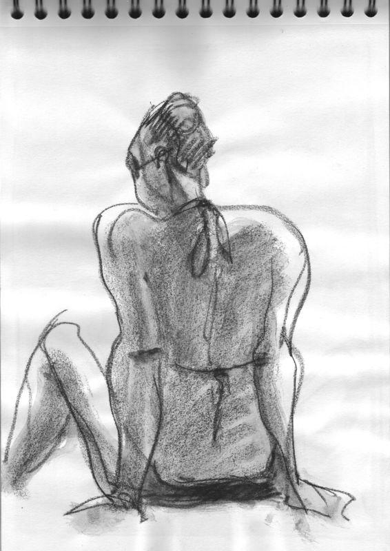 Vacancière sur la plage de Foncillon/Royan