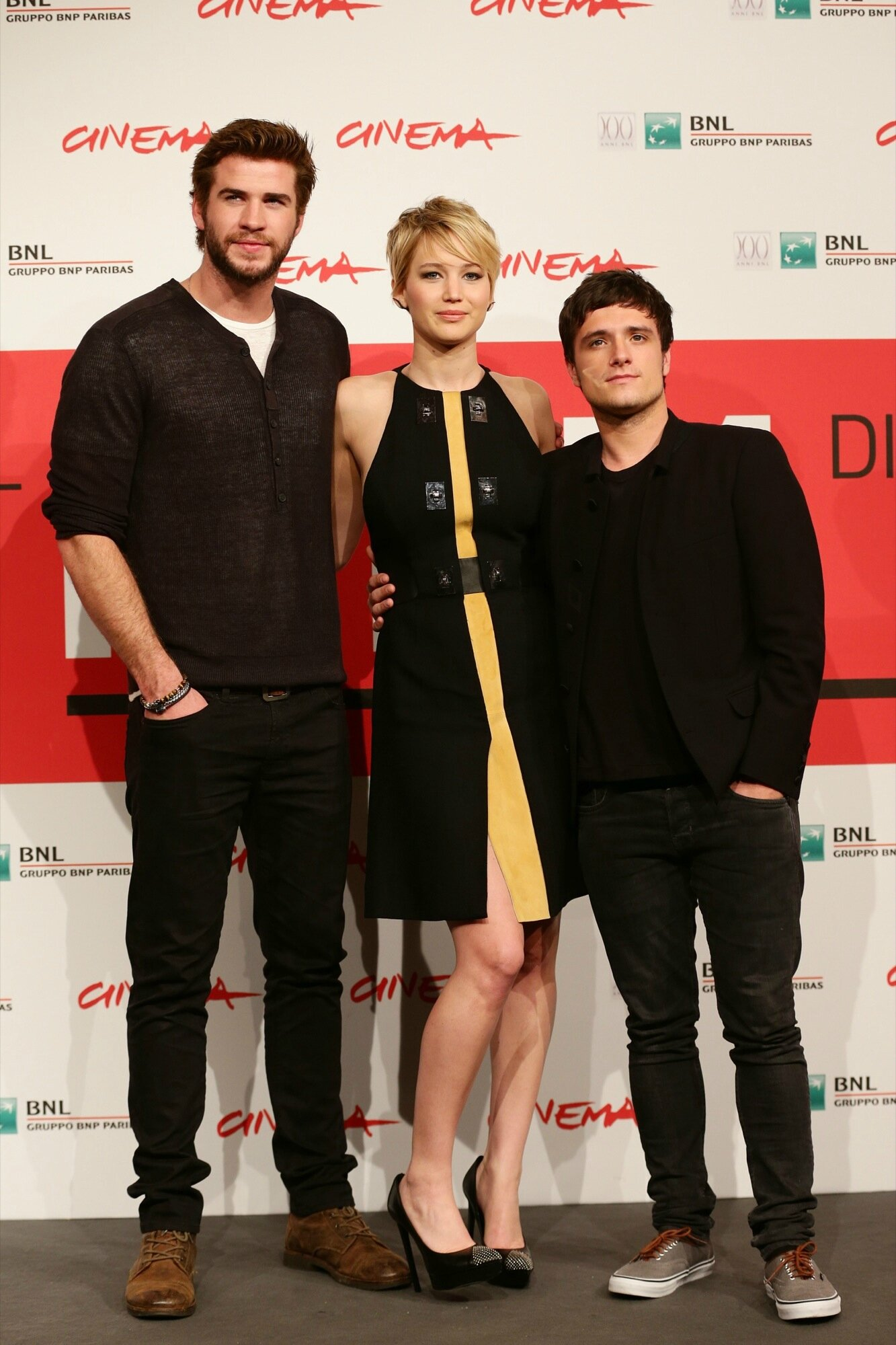 Catching Fire Photocall Rome03