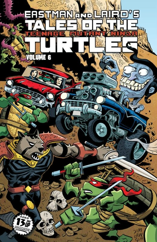 IDW TMNT tales of the TMNT vol 06 TP