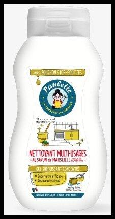 paulette nettoyant multi usages savon de marseille et bicarbonate