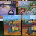 Les oeuvres des élèves / expositions