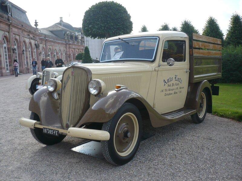 FIAT 508 Balilla Camioncino 1935 Schwetzingen (1)