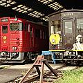 JR Shikoku Resort star trains at Matsuyama