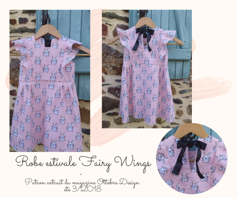 Robe estivale Fairy Wings PUBICATION FACEBOOK
