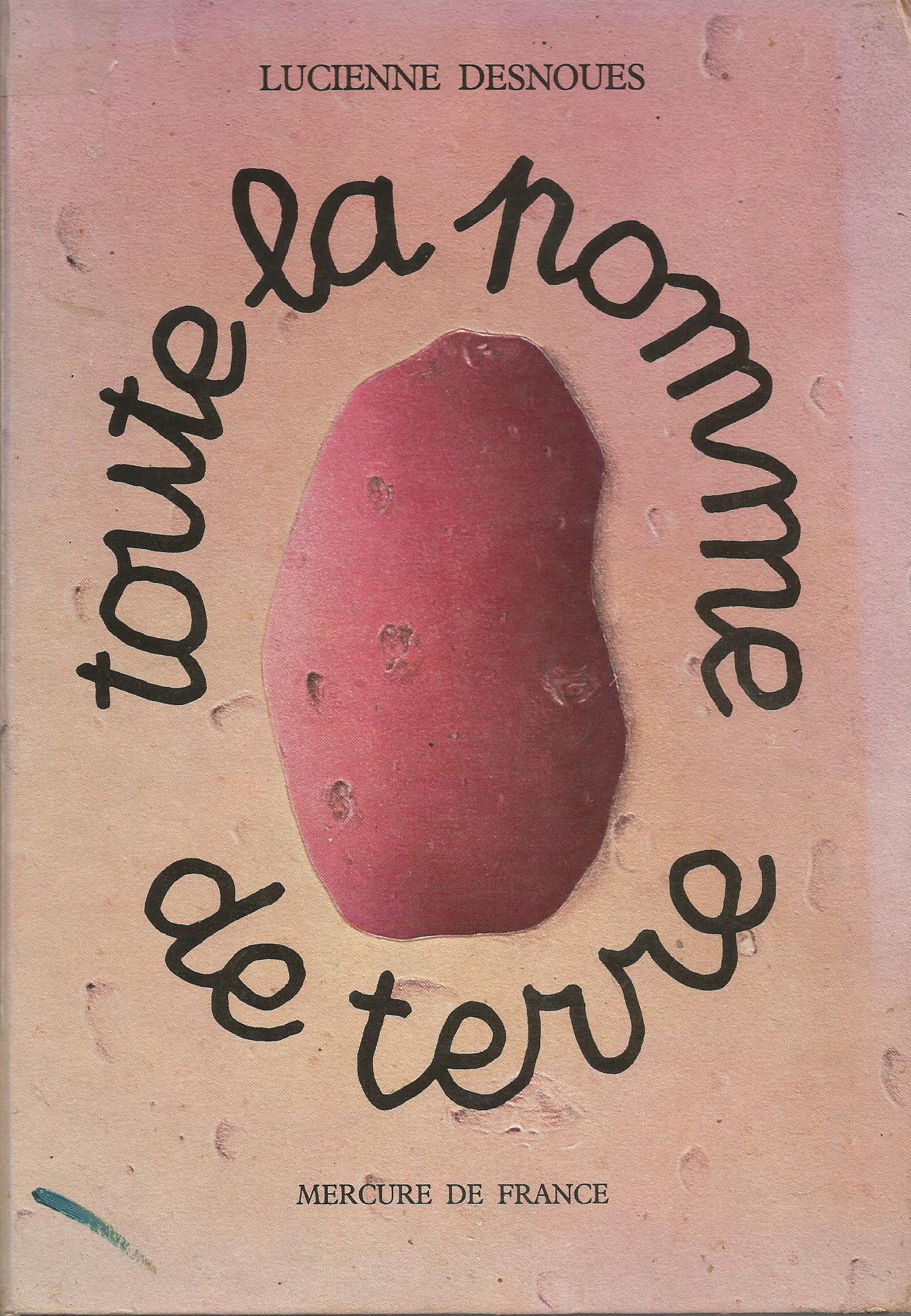 Lucienne Desnoues. Toute la pomme de terre. Revue d'histoire de la pharmacie.
