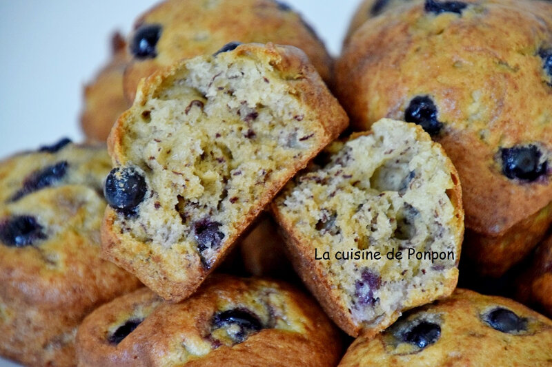 muffin banane et cassis (8)