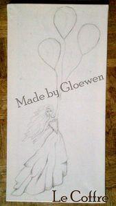 Création de la filles aux ballons - le coffre de gloewen et scrat (1)