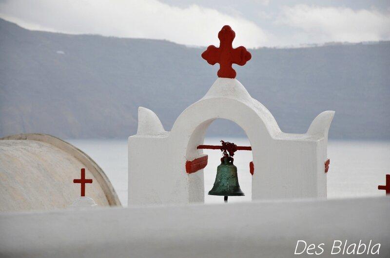 333 - Grèce - Cyclades - archipel de Santorin - île de Santorin - Oiam