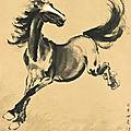 Xu beihong (1895-1953), horse, 1944