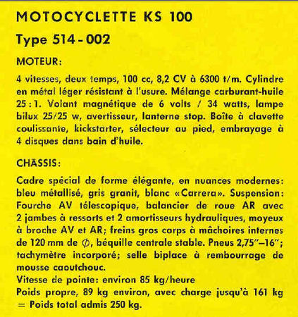 KS100_1963caract_techn