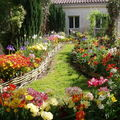 Un merveilleux petit jardin ...