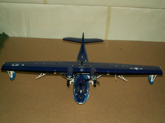 maquette du PBY- CATALINA (version 1948) (15)