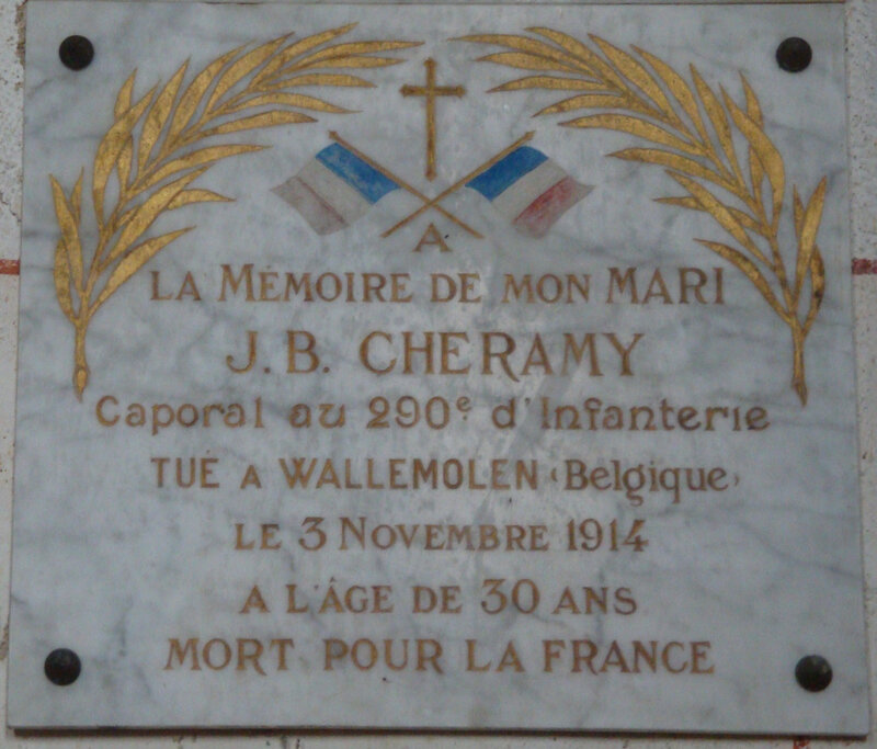 Montipouret 14-18 (36) église