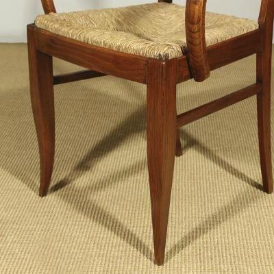 chaises-bridge-art-deco-en-chene-et-en-paille-1930s-set-de-6-7
