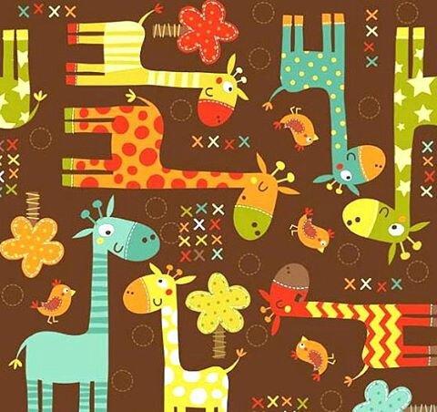 girages colorées