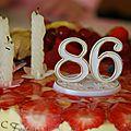 L'anniversaire de maman, 86 ans