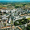 Cholet (Maine-et Loire), quartier des Roches