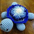 Atelier creatif - amigurumi petite tortue