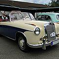Mercedes benz 220s w180 ponton cabriolet-1957