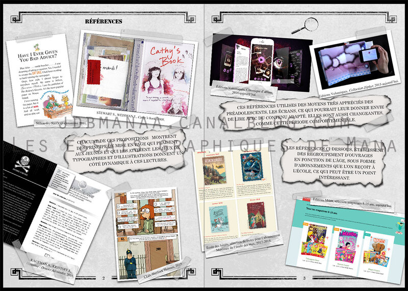 MEMOIRE - PAGE DES REFERENCES 01