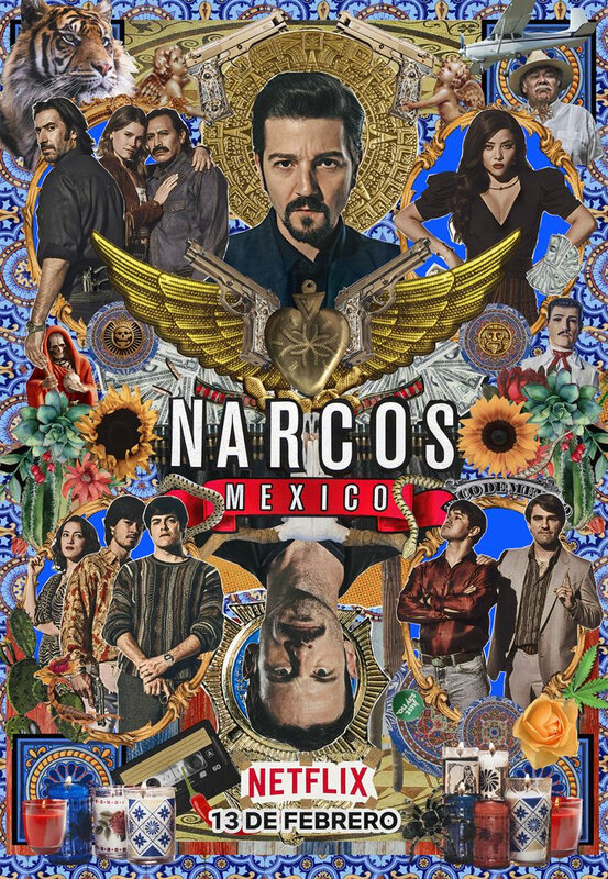 Narcos Mexico S2 affiche