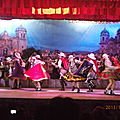 Spectacle de danses traditionnelles a Cusco