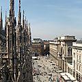 Vue du toit des Duomo