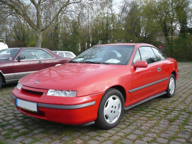 OPEL Calibra 16V 1991 Ludwigshafen (1)