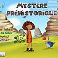 Ebook jeunesse: mystère préhistorique