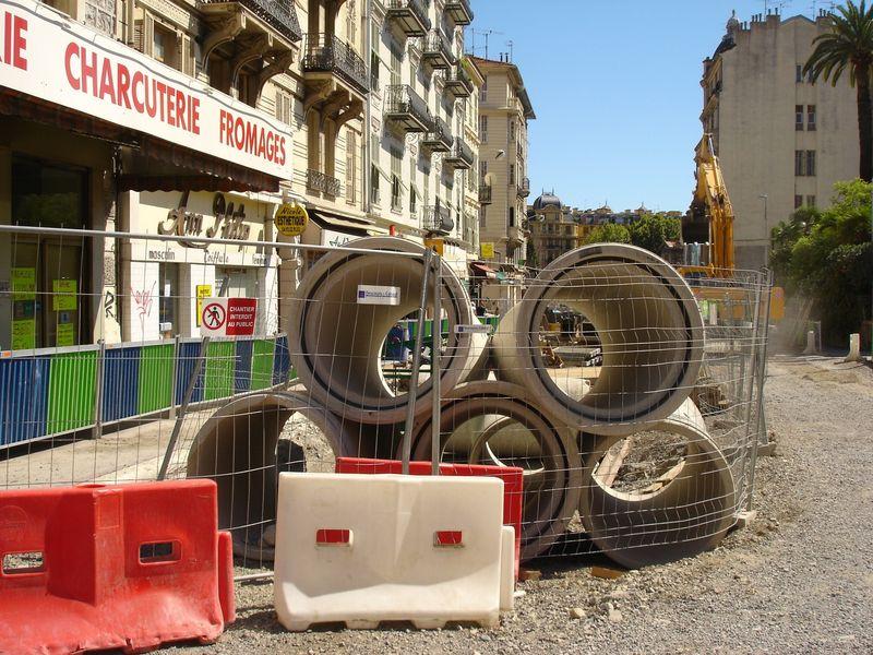 chantier u tramway de nice N° 5 009