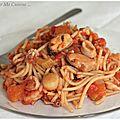 Spaghettis aux fruits de mer : pour ne pas oublier que l'été reviendra bien un jour !