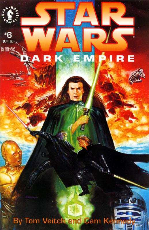 dark horse star wars dark empire 06