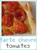 tarte tomates - fromage de chèvre - index