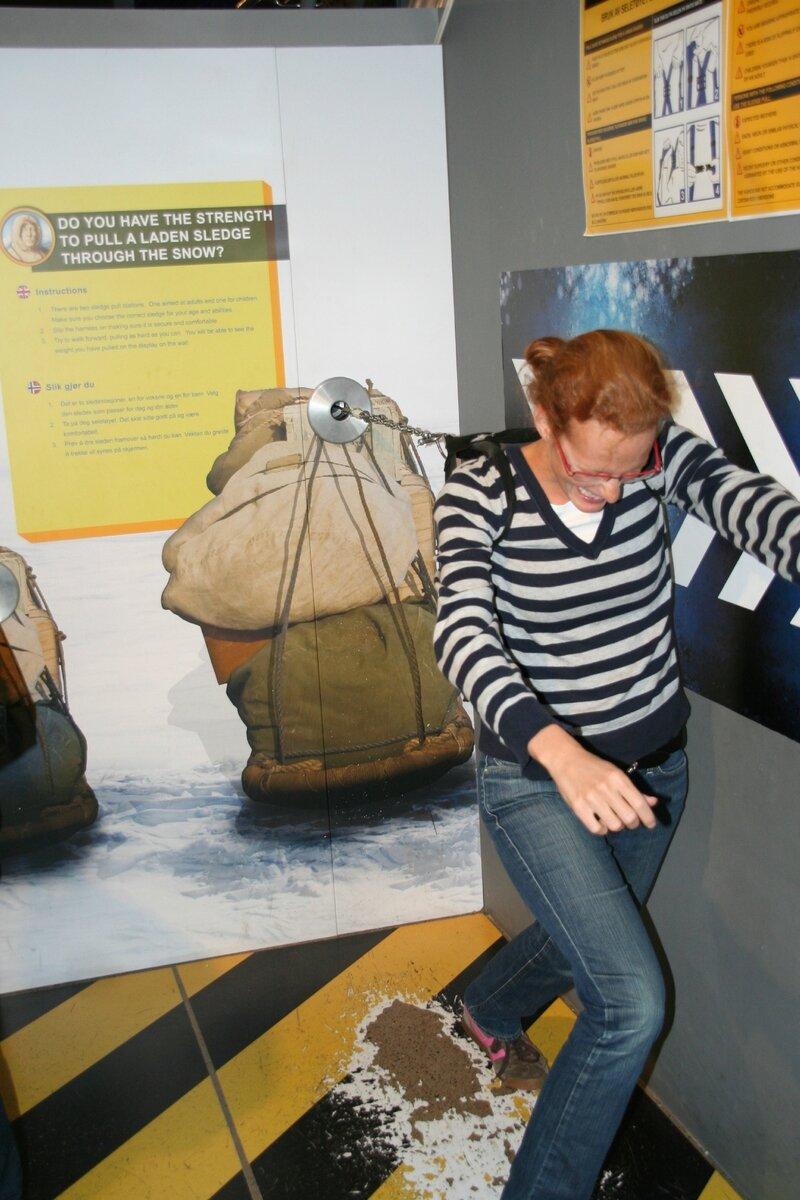 Marine essaye sa force