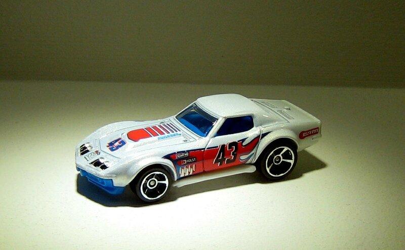 Chevrolet corvette COPO de 1969 (Hotwheels 2011) 01