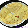 Crepes gourmandes