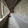 Cloître du couvent des Carmes - La Rochefoucauld -16 - (11)
