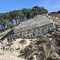 Blokauss sur la plage du Pyla